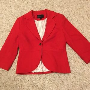 EUC Banana Republic Jacket in Red Size 4